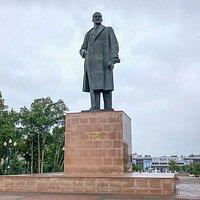 Lenin Monument Yuzhno, Sakhalin