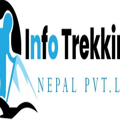 Info Trekking Nepal official logo.