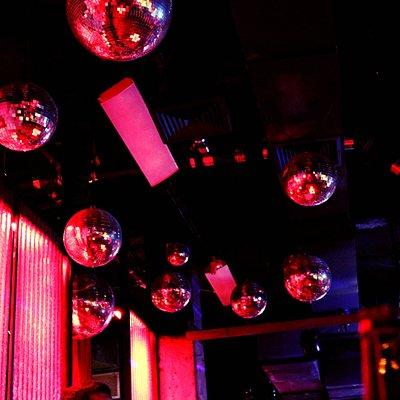 Interior of Industry Bar