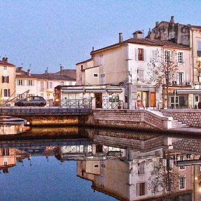 Le quai Marceau et le quai Aristide Briand   (Canal St Sébastien)