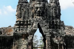 The amazing place to visiting in Siemreap Cambodia.