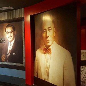inside of Memorial Negarawan