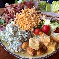 Adirondack Hotel - my Cobb salad
