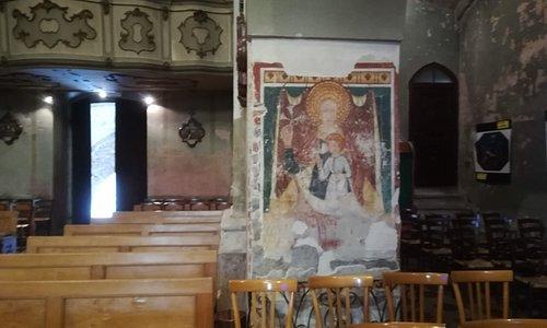 La Madonna del Latte con Bambino,databile al '400