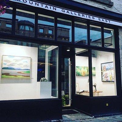 Inside Mountain Galleries East - Stratford