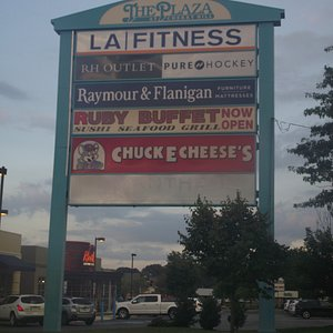 NJ - CHERRY HILL - THE PLAZA AT CHERRY HILL - SIGN