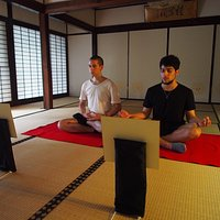 Ajikan meditation practice  can be booked via airbnb.