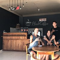 This local bisnis, we serve breakfast lunch dinner,  we open at 8am-11pm we provide Coffee, My coffee is the best in my village (if you want to know you can come and try my coffee) BEVERAGE -juice -Milkshake -beer -local cocktail FOOD -indonesian food -Burger -Hotdog -Sandwich -spaghetti -small dessert 📍jalan raya laplapan no.1   Come, join, and visit here