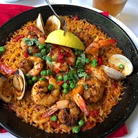 Espana Restaurant & Tapas - my paella marinara