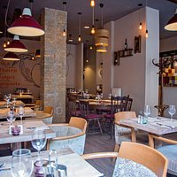 Our lovely restaurant interior