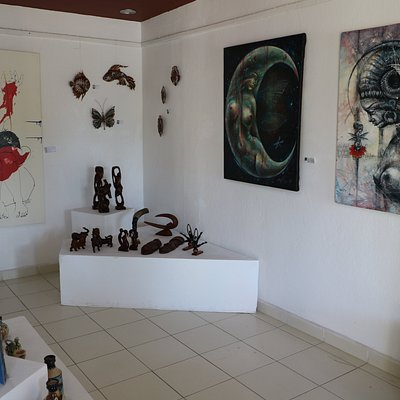 """Art Gallery. """"Espacio 34"""". Varadero"""