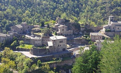 C'est beau!  Gorgeous village of Malleval, France.