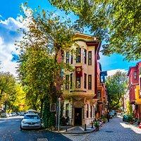 Picturesque streets of Kuzguncuk.