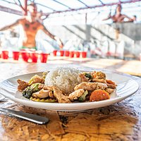Delicious food at Mad Monkey Kitchen & Bar - Cebu City