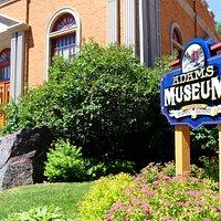 Deadwood's Adams Museum, built in 1930.  Oldest history museum in the Black Hills.