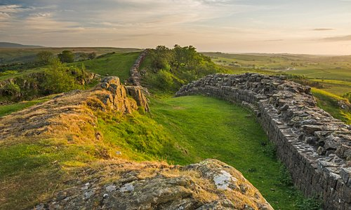 A fantastic section of Hadrian's Wall can be accessed from Walltown Country Park.