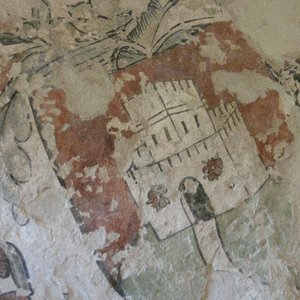 l'unica immagine esistente del castello di artegna