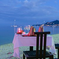 Take off your shoes, dine with us on the beach.