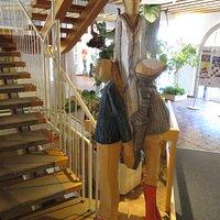 Kreismuseum St.Blasien dans le même bâtiment que Tourist-Info (accès qau 2e étage pour le musée)