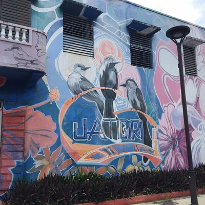"""This is a family owned Gallery in the heart of Rio Piedras! Steps from the Rio Piedras """"Tren Urbano"""" stop. Behind the Burger King. Call to ask them how to get here if you are not local because it's a bit tricky if you come by car with the one way streets. They opened their doors since 1973 from Monday-Fridays 9:30-5pm and Saturdays 10am-2pm! You will also love the work they sell here like the couple from Jan Páez and the óleo from Roberto Silva. Every two weeks (Thursday) a new exhibition!!"""