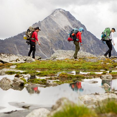 Wild Women: Expeditions Basics 101 adventure in the Talkeetna Mountains. 5 days in the wilderness honing your camping skills surrounded by other adventurous women.