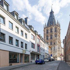 Unser freundliches Hotel liegt mitten in der der historischen Altstadt.
