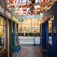 Walk down our little Victorian Street and check out our little shops, and jump on a penny farthing for the only Penny Farthing carousel in NZ!  - 'The Glimpse'