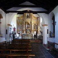 Iglesia de San Simón y San Judas Tadeo en Las Médulas, interiör