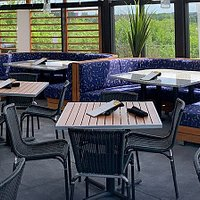 Come and check out our newly renovated, fully enclosed patio!