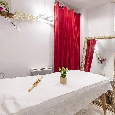 Epilation, massage