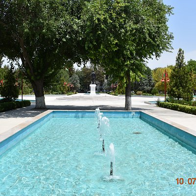 fountain - south area of park
