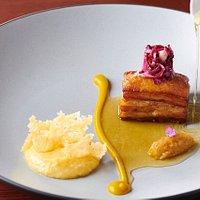 Belly Porc, bouillon