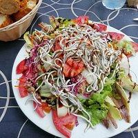 Ensalada Kalari...deliciosa!! Muy recomendable