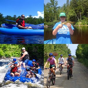 Kayaking, fishing, rafting or biking! Want to plan a multi-day adventure, call us and we'll arrange a custom vacation for you and yours!