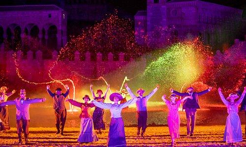 """""""El Sueño de Toledo"""", el gran espectáculo nocturno de Puy du Fou España."""