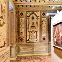Una sala della Pinacoteca