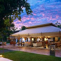 Governor's Grill restaurant at the Sofitel Luang Prabang.