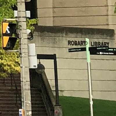 front entrance @ Robarts Research Library