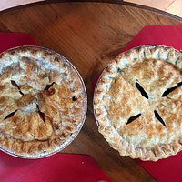 The BEST pies.  FLAKY crust.  Perfectly done.
