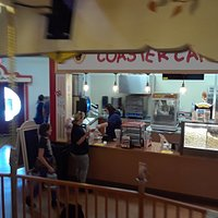 Concession stand at Carousel in the Spirit of Columbia Gardens Pavillion in Stodden Park.