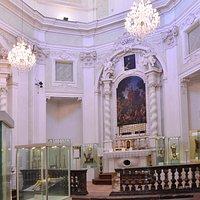 Interno della chiesa trasformata in museo
