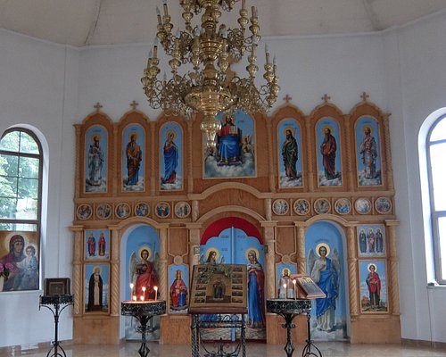 В храме Св.Пантелеймона