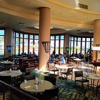 Dining area at Big Island Breakfast