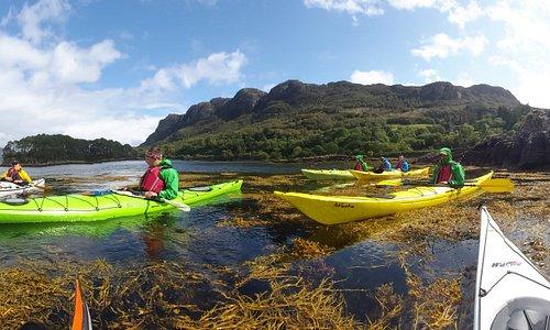 The freedom of sea kayaking
