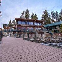Za's spectacular location on Lake Tahoe.