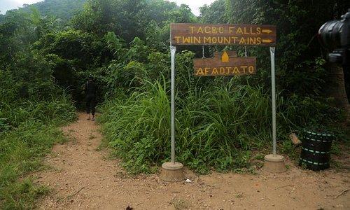 Route to Tagbo Falls and Mountain Afadjato via Liati Wote