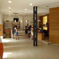 Oficina de Informacion Turistica de Leon, interiör
