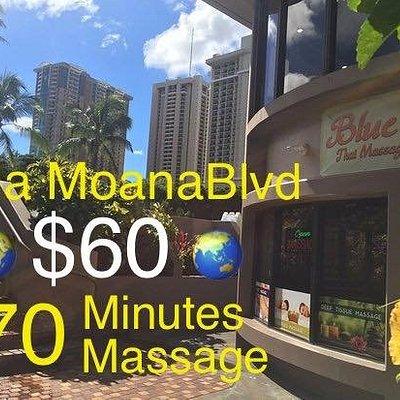 70 minutes $60