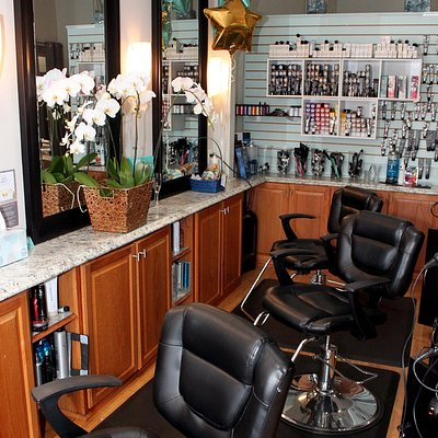 Our styling stations, we can help you with all your haircare needs!
