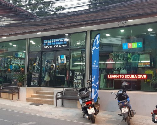 Phuket scuba diving shop - Phuket Dive Tours